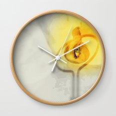 Lovers and the lovebird Wall Clock