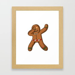 gingerbread men , chirstmas time Framed Art Print