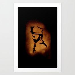 Axe Man Art Print