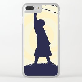 Stone Lady Clear iPhone Case