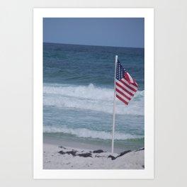 Good Morning, USA Art Print