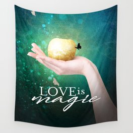 Love is Magic Wall Tapestry