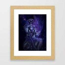 Ash Lady Framed Art Print
