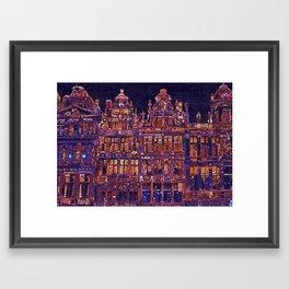 La Grand Place Framed Art Print