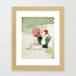 Paresse Framed Art Print