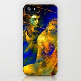 Shiva The Auspicious One - The Hindu God iPhone Case