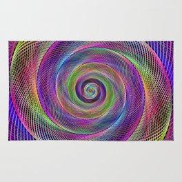 Spiral magic Rug