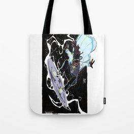 Statik Shock Tote Bag