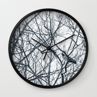 pigeon Wall Clocks featuring pigeon by Lama BOO