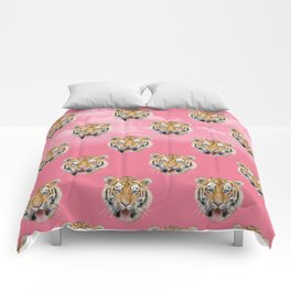 TIGER PINK PATTERN Comforters