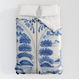 Old Delftware blue tiles Comforters