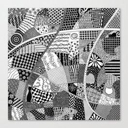Zensquare 1 Canvas Print