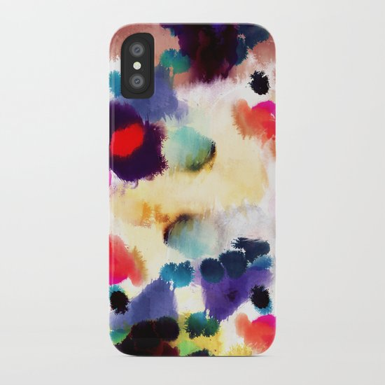 Ink Mix II iPhone Case