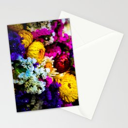 The Flowering Market Stationery Cards