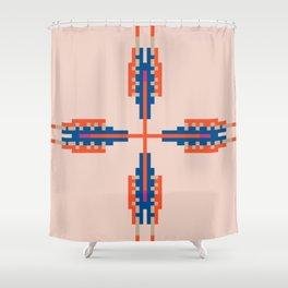 Southwest Vibe Festival Style Shower Curtain