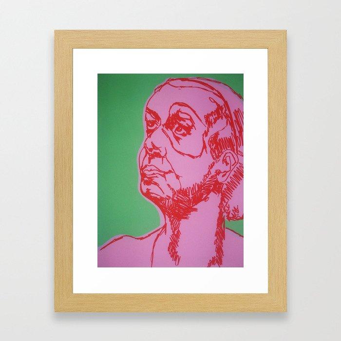 A Friend of Mine  Framed Art Print