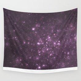 Purple Galaxy of Sir Douglas Fresh Wall Tapestry