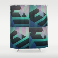 sydney Shower Curtains featuring Sydney by Ghostweight