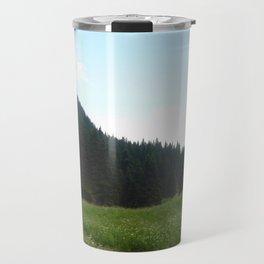 green beautiful nature Travel Mug