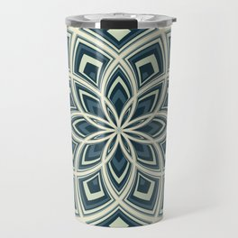 Spiral Rose Pattern E 4/4 Travel Mug