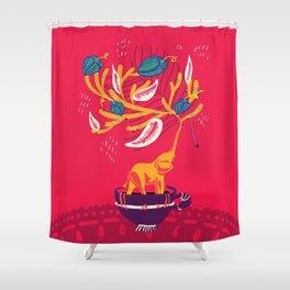 Eleplant Shower Curtain