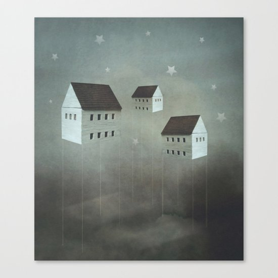 the architecture of dreams Canvas Print
