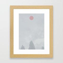 Where did you go? Framed Art Print