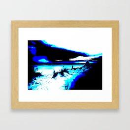 Beach 01 Framed Art Print
