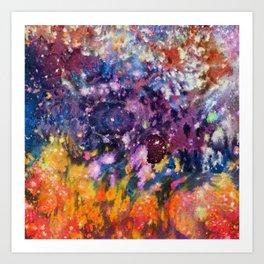 Nebula II Art Print