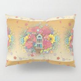Tree House Garden Pillow Sham