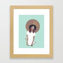 color  of life  Framed Art Print