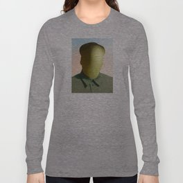 Mao as wound 2 Collage Long Sleeve T-shirt