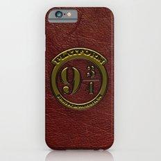 Logo Platform 9 3/4 Slim Case iPhone 6s