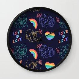LGBTIQ Wall Clock