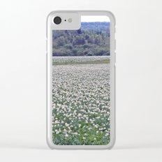 Potato Fields of PEI Clear iPhone Case