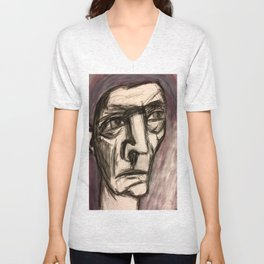 The Incandescent Man. Unisex V-Neck