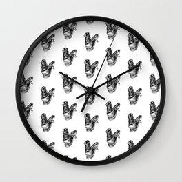 Battered Cons Wall Clock
