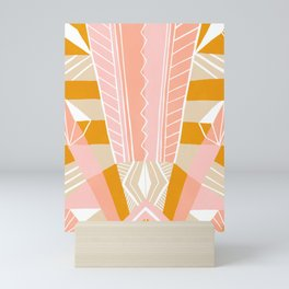 salida, peach Mini Art Print