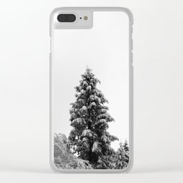 Fir Forest Treescape - 52/365 Clear iPhone Case
