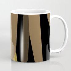yellow tan olive and black Mug