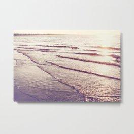 Golden Tides Metal Print