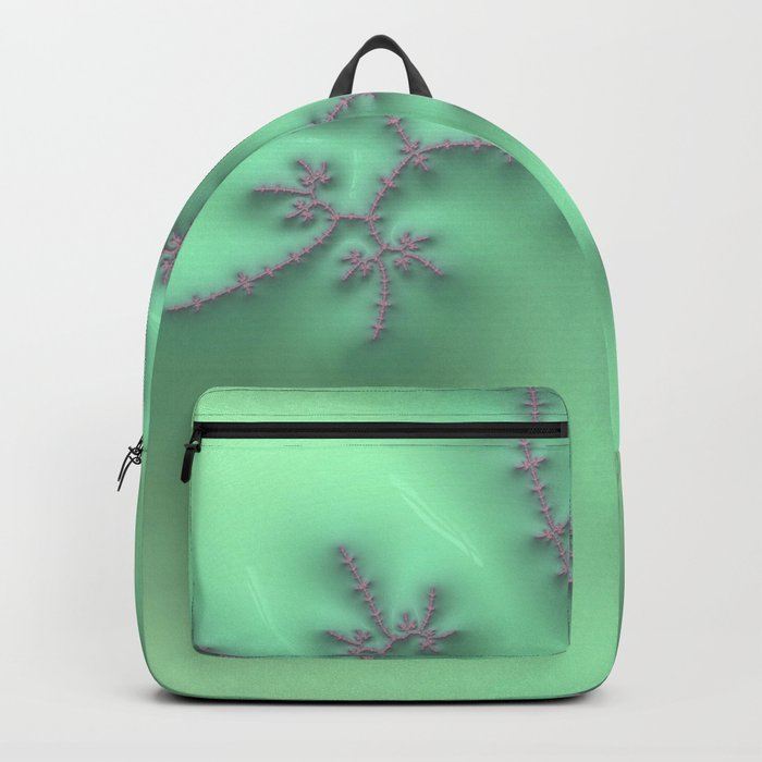 Mint and Lavender Backpack