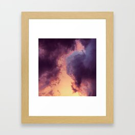 Something Wicked This Way Comes Framed Art Print
