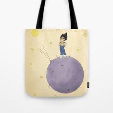 The Little Prince Of Saiyans Tote Bag