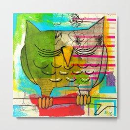 Owl Day Metal Print