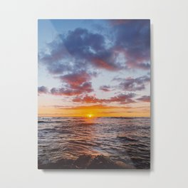 Hunting for the Horizon Metal Print