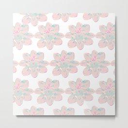 Flower Pattern #4 Metal Print