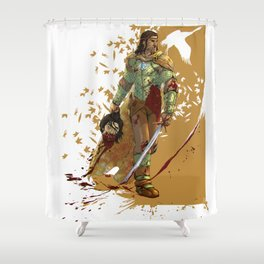 I came here to KILL YOU Shower Curtain