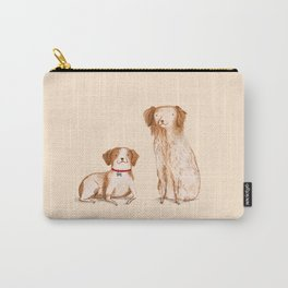 Brittany Spaniels Carry-All Pouch