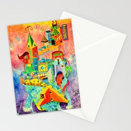 Invisible Cities-TAMARA【隐形的城市·插画】 Stationery Cards